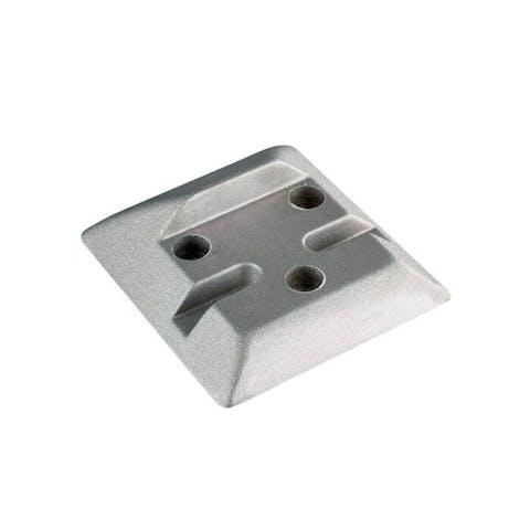 Aluminium poortstop
