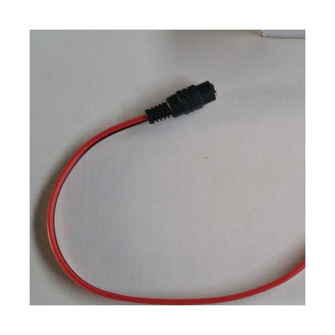Contrastekker voor voeding met kabel